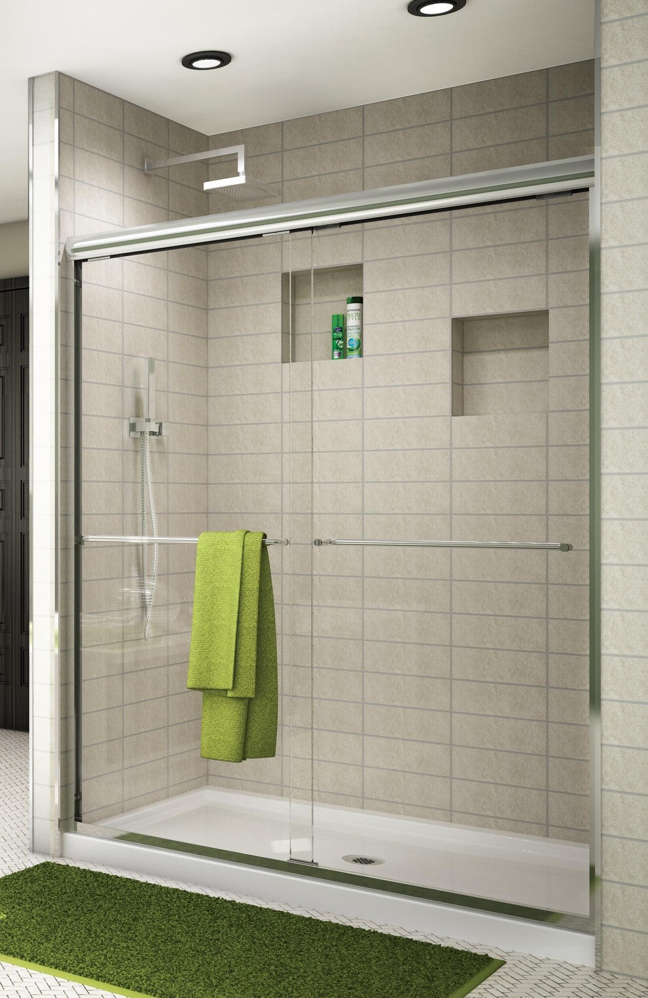 Cordoba Frameless In Line Shower Enclosures Artistcraft Com