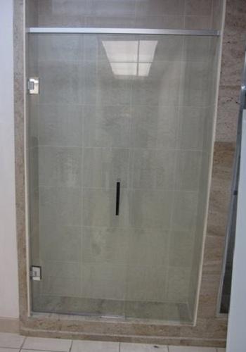 Frameless Shower Door With In Line Panel Artistcraft Com