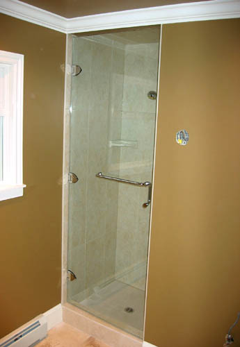 3 Hinge Frameless Shower Door Artistcraft