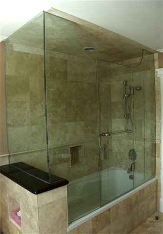 Tub Enclosures with End Panels | ArtistCraft.com