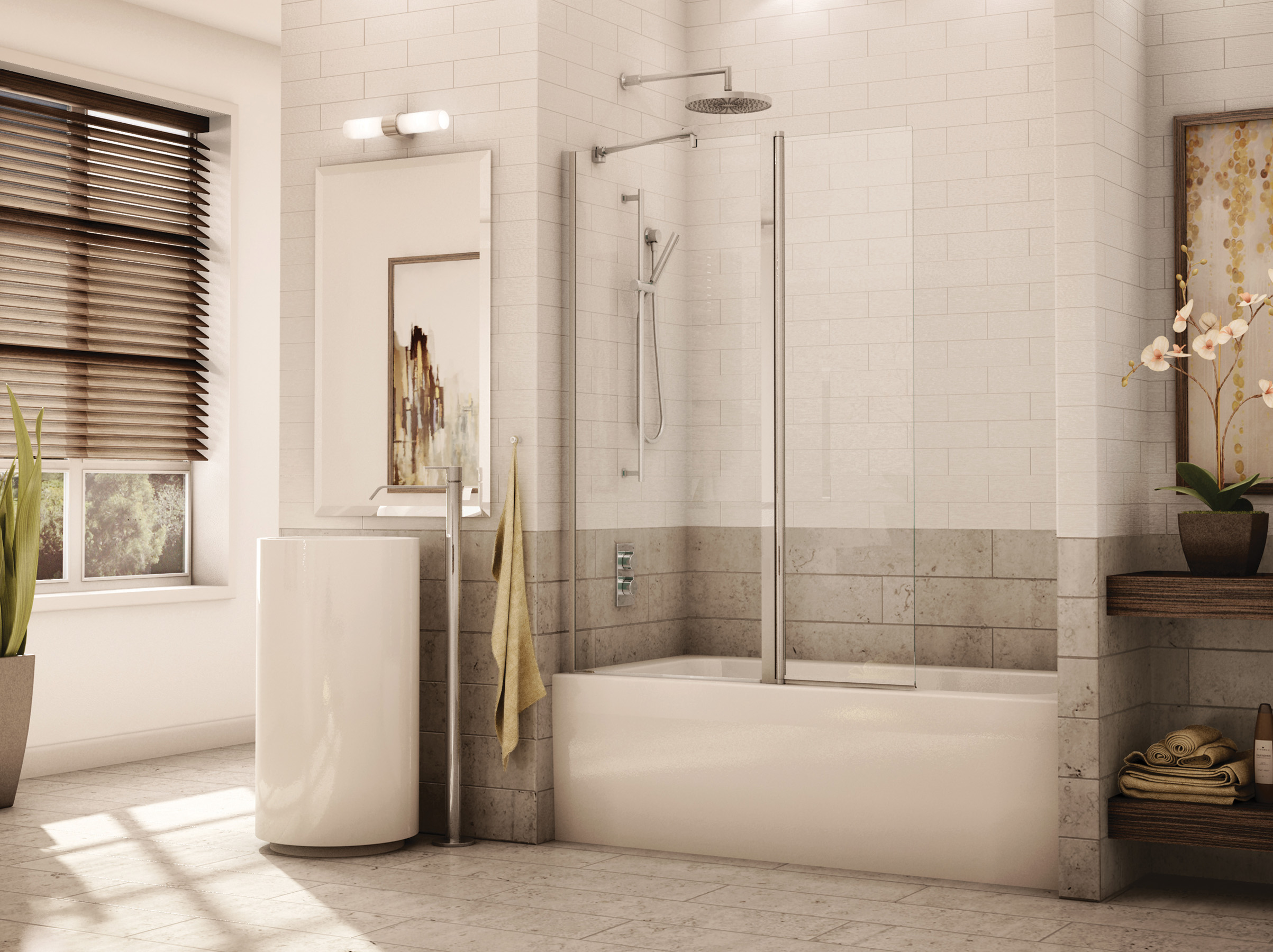tub ideas banyo inspiration fleurco doors for cordoba sliding glass frameless shower