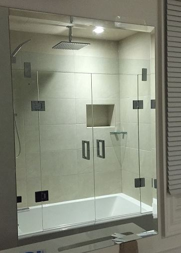 Glass Header Tub Enclosure Artistcraft Com
