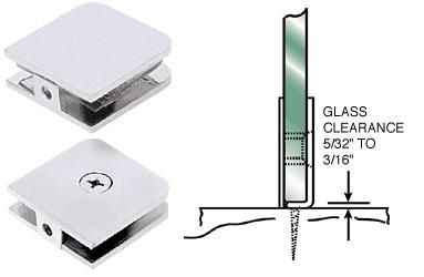 Bathroom mirror mounting clips - Shower Doors Hardware