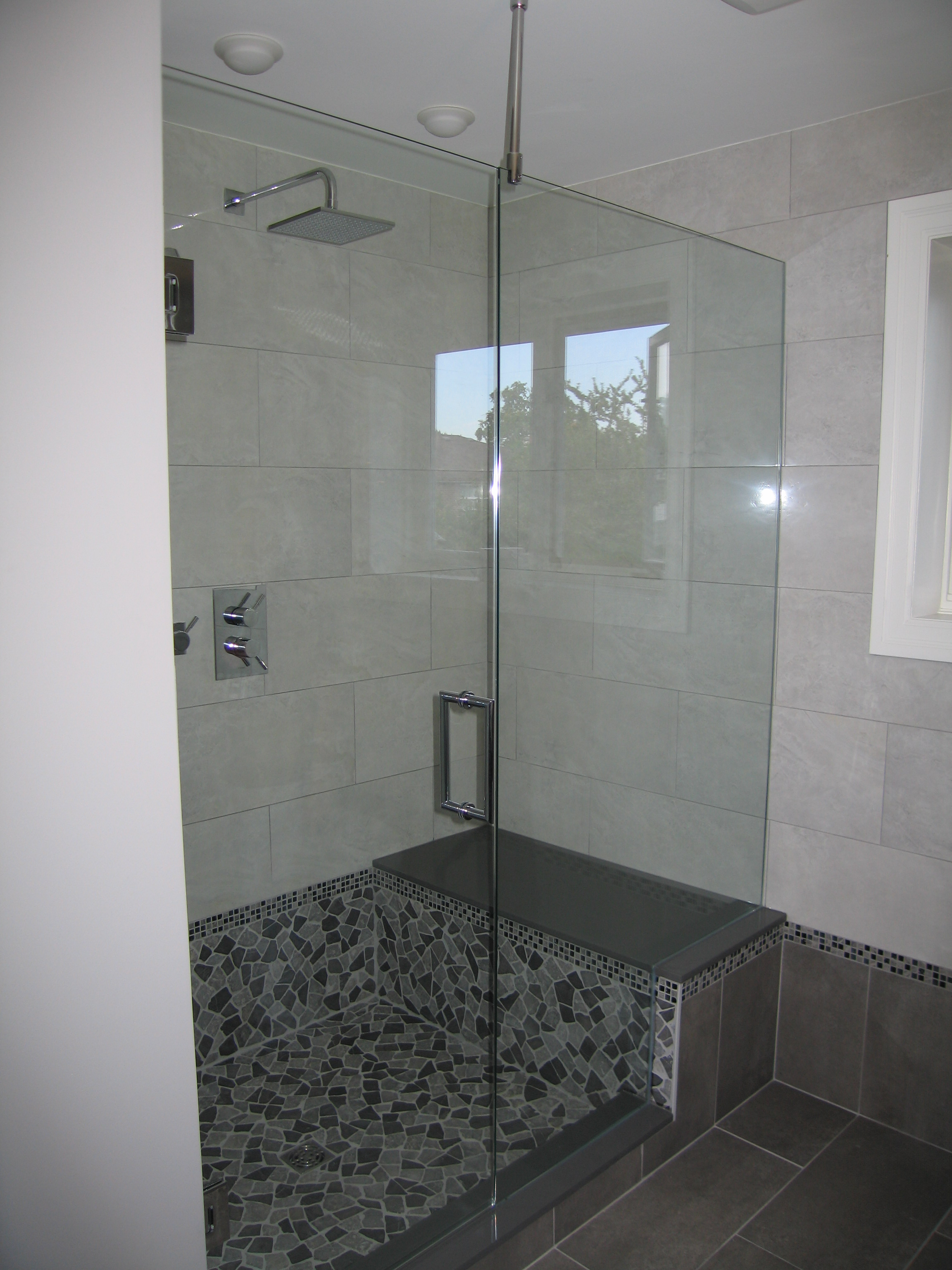for panel doors glass handballtunisie door with org alcove l return bathtub captivating