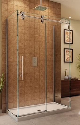 Kinetik Frameless Rectangular Shower Artistcraft Com