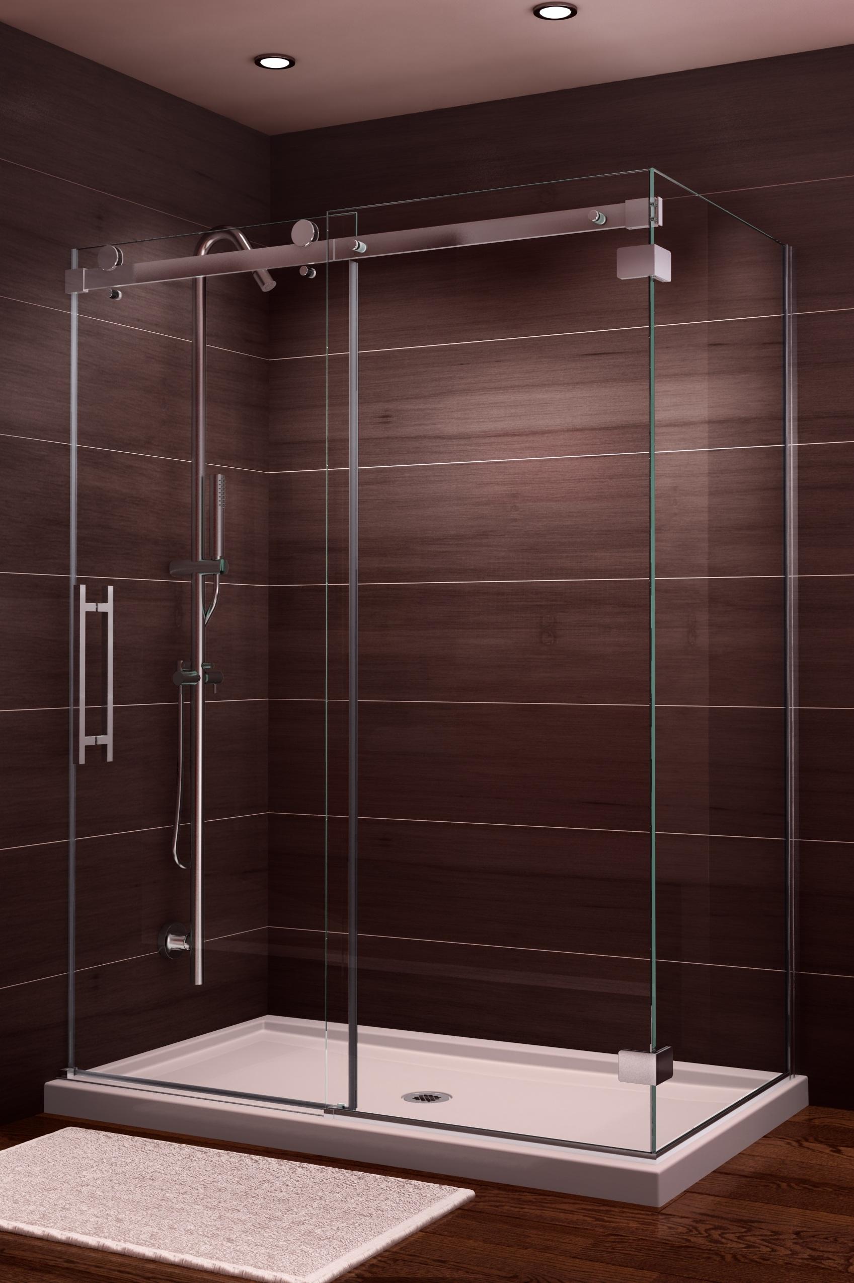 Novara Rectangular Shower | ArtistCraft.com