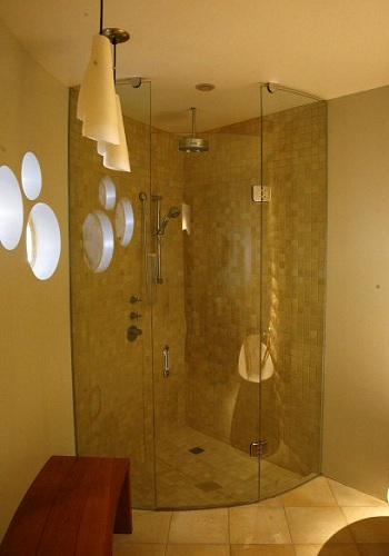 Frameless Curved And Shaped Showers Artistcraft Com