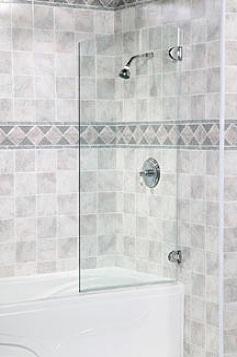 Shower Doors Frameless Tub