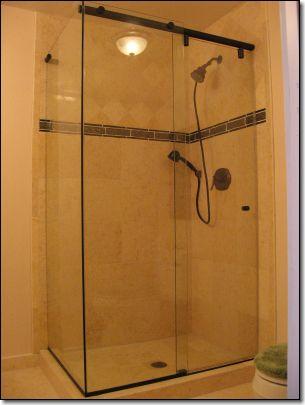 hydroslide sliding shower door kits were designed for full standing showers or above bathtubs
