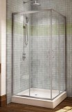 Capri Square Corner Entry Shower