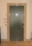 Pocket Sliding Door with Frosted Glass