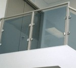 Metal Railing With Clamps
